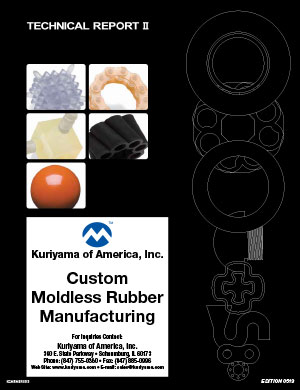 Custom Moldless Rubber Manufacturing