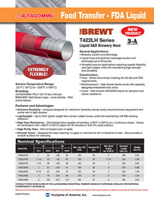 Alfagomma The Brewt Hose flyer
