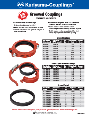 Grooved-Couplings flyer