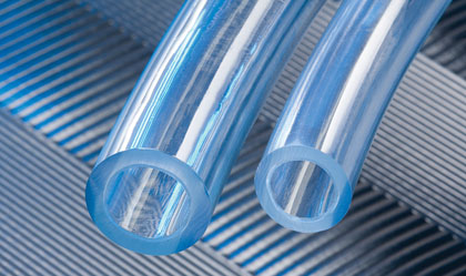 Polyurethane Lined Clear PVC tubing