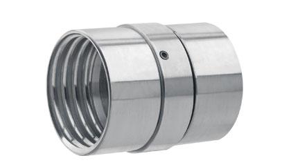 9 1//4 Inner Diameter Kuriyama CRS-CS80904 Industrial Hose Crimping Sleeves Plated Steel