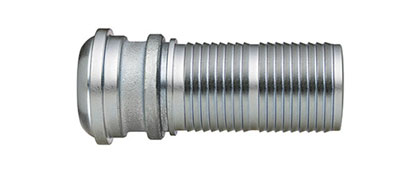 Ground Joint Coupling - Hose Stem with Interlocking Collar